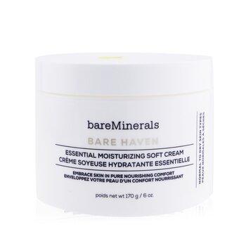 Bare Haven Essential Moisturizing Soft Cream - Normal To Dry Skin Types (Salon Size)  170g/6oz