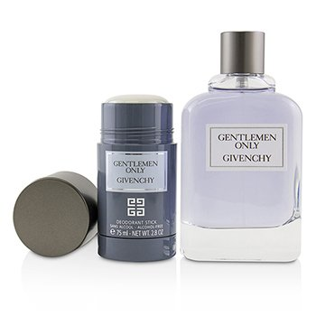 Gentlemen Only Coffret: Eau De Toilette Spray 100ml/3.3oz + Alcohol-Free Deodorant Stick 75ml/2.8oz  2pcs