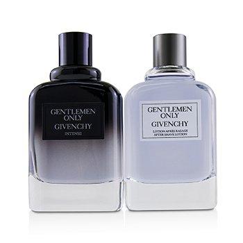 Gentlemen Only Coffret: Eau De Toilette Intense Spray 100ml/3.3oz + After Shave Lotion 100ml/3.3oz  2pcs