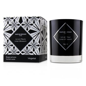 Graphic Candle - Linen Blossom  210g/7.4oz
