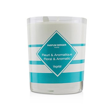 Functional Scented Candle - Neutralize Bathroom Smells (Floral and Aromatic)  180g/6.3oz