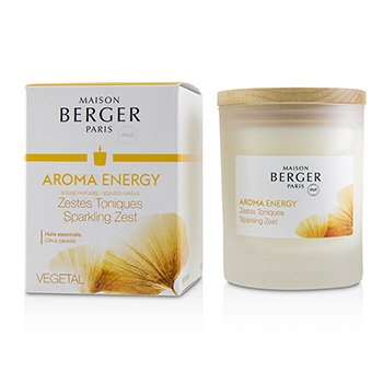 Scented Candle - Aroma Energy (Citrus Paradisi)  180g/6.3oz