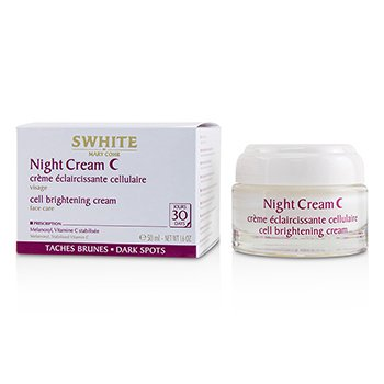 SWHITE Night Cream - Cell Brightening Cream  50ml/1.6oz