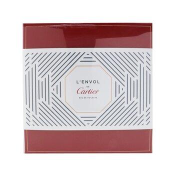 L'Envol De Cartier Coffret: Eau De Toilette Spray 80ml/2.7oz + Perfumed Shower Gel 100ml/3.3oz  2pcs
