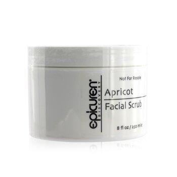 Apricot Facial Scrub - For All Skin Types, except Acneic & Rosacea (Salon Size)  250ml/8oz