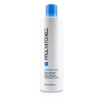 Shampoo Three (Clarifying - Removes Chlorine)  500ml/16.9oz