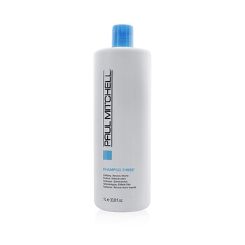 Shampoo Three (Clarifying - Removes Chlorine)  1000ml/33.8oz