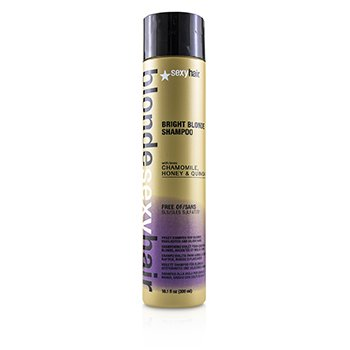 Blonde Sexy Hair Bright Blonde Violet Shampoo (For Blonde, Highlighted and Silver Hair)  300ml/10.1oz
