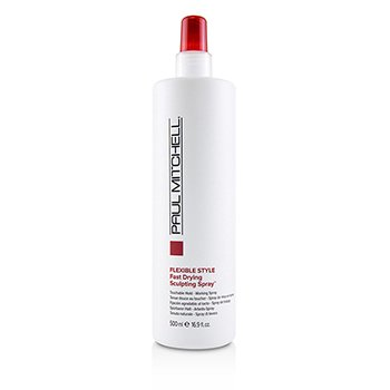 Flexible Style Fast Drying Sculpting Spray (Touchable Hold - Working Spray)  500ml/16.9oz