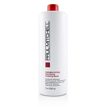 Flexible Style Fast Drying Sculpting Spray (Touchable Hold - Working Spray)  1000ml/33.8oz
