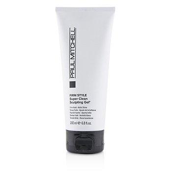 Firm Style Super Clean Sculpting Gel (Firm Hold - Adds Shine) 200ml/6.8oz