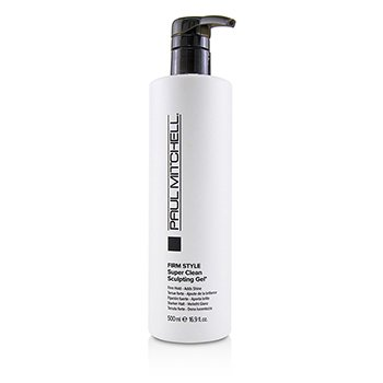 Firm Style Super Clean Sculpting Gel (Firm Hold - Adds Shine)  500ml/16.9oz
