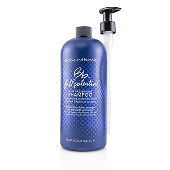 Bb. Full Potential Hair Preserving Shampoo (Salon Product)  1000ml/33.8oz