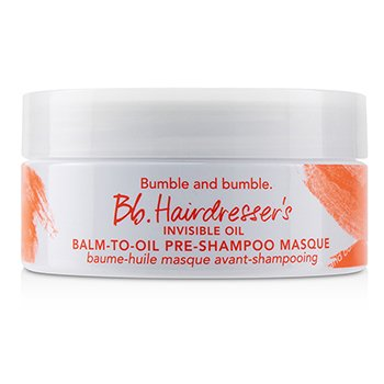 Bb. Hairdresser's Invisible Oil Balm-To-Oil Pre-Shampoo Masque (For Dry to Very Dry Hair)  190ml/5.8oz