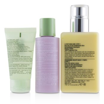3-Step Skin Care System (Skin Type 2): DDML+ 200ml + Clarifying Lotion 2 60ml + Liquid Facial Soap Mild 30ml  3pcs