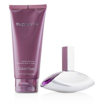 Euphoria Coffret: Eau De Parfum Spray 50ml/1.7oz + Sensual Skin Lotion 200ml/6.7oz  2pcs