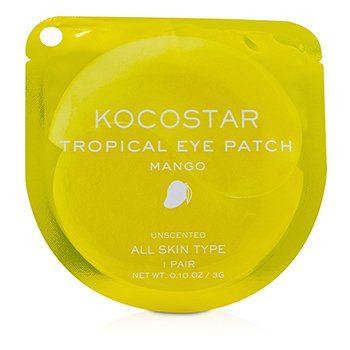Tropical Eye Patch Unscented - Mango (Individually packed)  10pairs