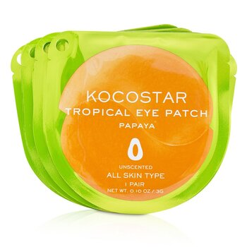 Tropical Eye Patch Unscented - Papaya (Individually packed)  10pairs
