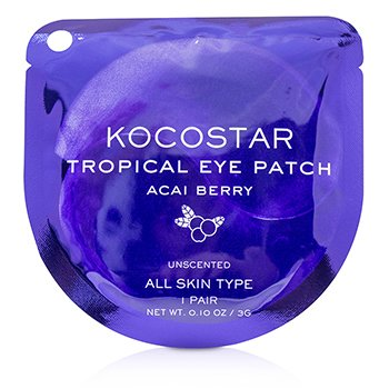 Tropical Eye Patch Unscented - Acai Berry (Individually packed)  10pairs