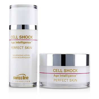 Cell Shock Age Intelligence Perfect Skin 1 Month Youth-Treatment  45ml+60pads