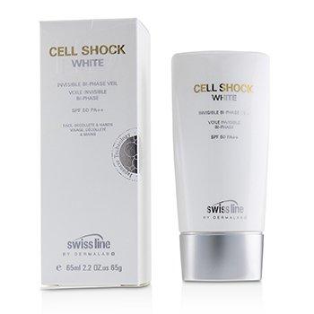 Cell Shock White Invisible Bi-Phase Veil SPF50  65ml/2.2oz