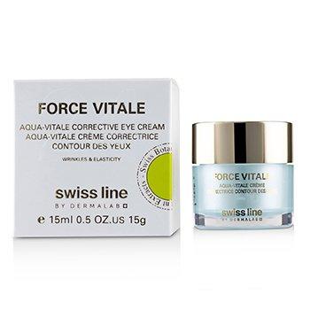 優植24撫紋眼霜Force Vitale Aqua-Vitale Corrective Eye Cream  15ml/0.5oz