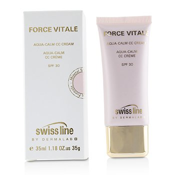 Force Vitale Aqua-Calm CC Cream SPF30 - #Beige 20  35ml/1.18oz
