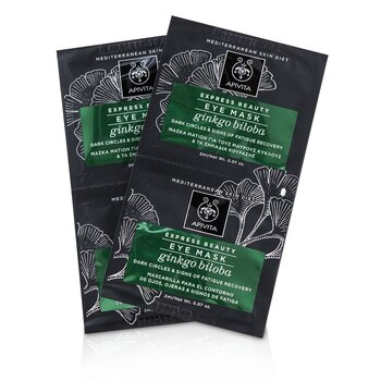 Express Beauty Eye Mask with Ginkgo Biloba (Mot mørke ringer og tretthetstegn)  6x(2x2ml)