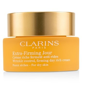 Extra-Firming Jour Wrinkle Control, Firming Day Rich Cream - For Dry Skin (Unboxed)  50ml/1.7oz