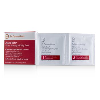 Alpha Beta Extra Strength Daily Peel  5 Treatments