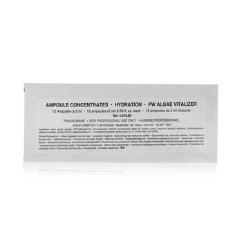 海藻能量活水安瓶精華 (活力保濕, 暗沉/乾燥肌膚) Ampoule Concentrates Hydration Algae Vitalizer(美容院裝)  24x2ml/0.06oz