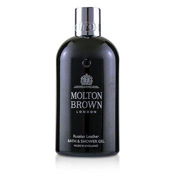 Russian Leather Bath & Shower Gel  300ml/10oz