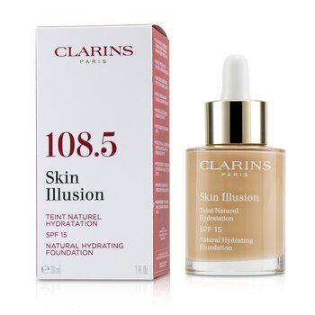 Skin Illusion Natural Hydrating Foundation SPF 15  30ml/1oz