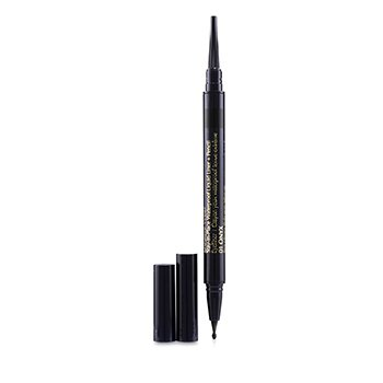 Double Wear Stay In Place Waterproof Liquid Liner + Pencil  0.53g/0.012oz