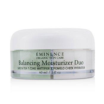 Balancing Moisturizer Duo: Green Tea T-Zone Mattifier & Pomelo Cheek Hydrator - For Combination Skin Types  60ml/2oz