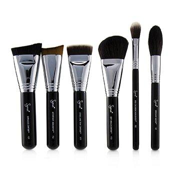 Highlight and Contour Brush Set  7pcs