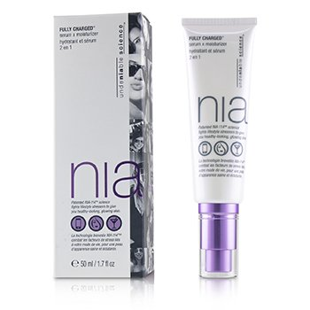 NIA Fully Charged Serum X Moisturizer  50ml/1.7oz