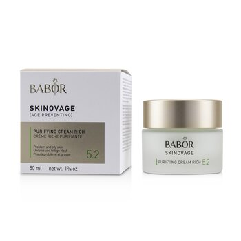 Skinovage [Age Preventing] Purifying Cream Rich 5.2 - For Problem & Oily Skin  50ml/1.7oz