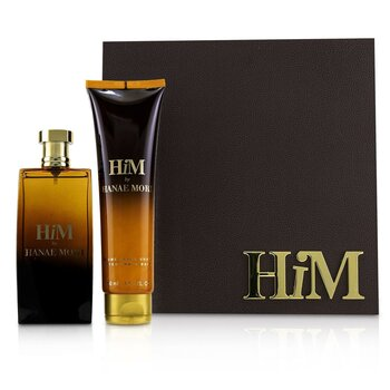 Him Coffret: Eau De Toilette Spray 100ml/3.4oz + After Shave Balm 150ml/5oz  2pcs