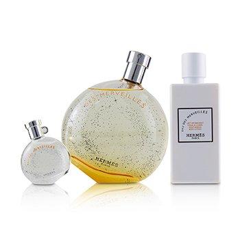 橘采星光女香組合Eau Des Merveilles Coffret:淡香水100ml+乳液80ml+小香 7.5ml  3pcs