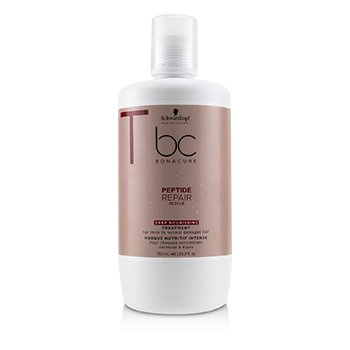 BC Bonacure Peptide Repair Rescue Deep Nourishing Treatment (For Thick to Normal Damaged Hair)  750ml/25.3oz