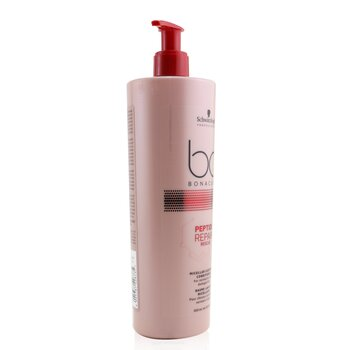 BC Bonacure Peptide Repair Rescue Micellar Cleansing Conditioner (For Normal to Thick Damaged Hair)  500ml/16.9oz