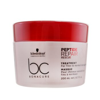 BC Bonacure Peptide Repair Rescue Treatment (For Fine to Normal Damaged Hair)  200ml/6.7oz