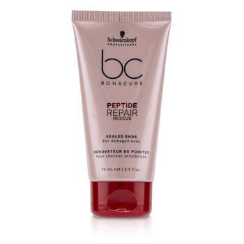 BC Bonacure Peptide Repair Rescue Sealed Ends (For Damaged Ends)  75ml/2.5oz
