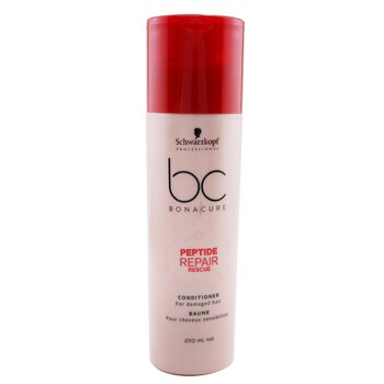 BC Bonacure Peptide Repair Rescue Conditioner (For Damaged Hair)  200ml/6.7oz