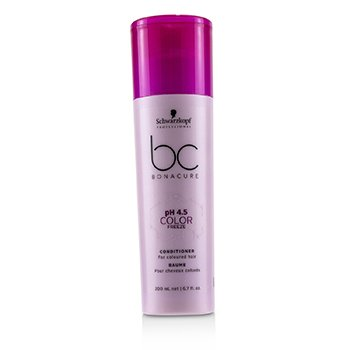 BC Bonacure pH 4.5 Color Freeze Conditioner (For Coloured Hair)  200ml/6.7oz