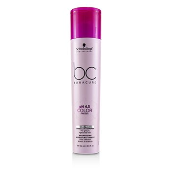 BC Bonacure pH 4.5 Color Freeze Silver Micellar Shampoo (For Grey & Lightened Hair) 250ml/8.5oz