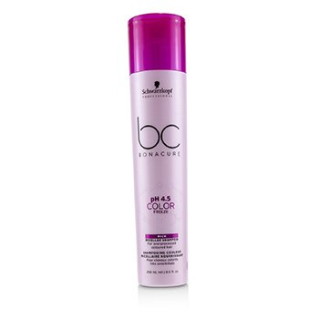 BC Bonacure pH 4.5 Color Freeze Rich Micellar Shampoo (For Overprocessed Coloured Hair)  250ml/8.5oz