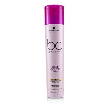 BC Bonacure pH 4.5 Color Freeze Gold Shimmer Micellar Shampoo (For Gold Hair)  250ml/8.5oz