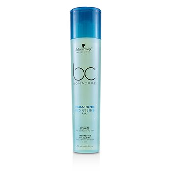 BC Bonacure Hyaluronic Moisture Kick Micellar Shampoo (For Normal to Dry Hair)  250ml/8.5oz